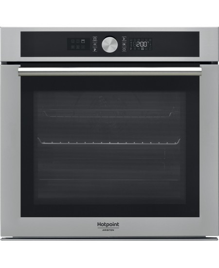 Hotpoint Oven FI4 854 C IX HA 71 L, Electric, Catalytic, Knobs and electronic, Height 59.5 cm, Width 59.5 cm, Inox