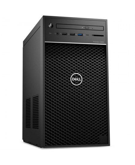 Dell Precision 3640 Desktop, Tower, Intel Core i7, i7-10700, Internal memory 8 GB, DDR4, SSD 256 GB, NVIDIA Quadro P1000, No Opt