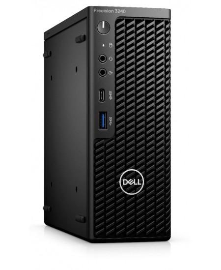 Dell Precision 3240 Compact Desktop, SFF, Intel Core i7, i7-10700, Internal memory 8 GB, DDR4, SSD 256 GB, NVIDIA Quadro P620, N