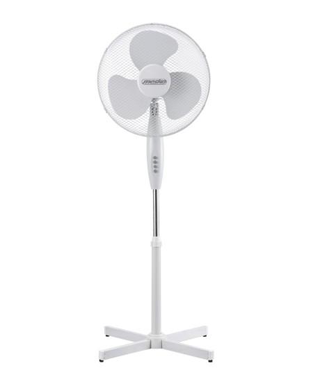 Mesko Fan MS 7311 Stand Fan, Number of speeds 3, 45 W, Oscillation, Diameter 40 cm, Black