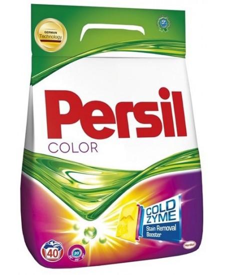 Skalbimo milteliai PERSIL Color, 40 skalbimų, 2.8 kg