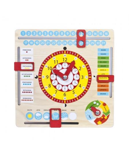 Lavinamasis Laikrodis kalendorius LT