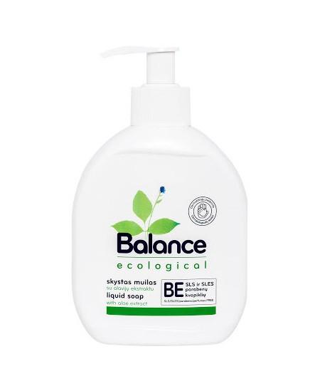 Ekologiškas skystas muilas BALANCE, su alavijų ekstraktu, 275 ml