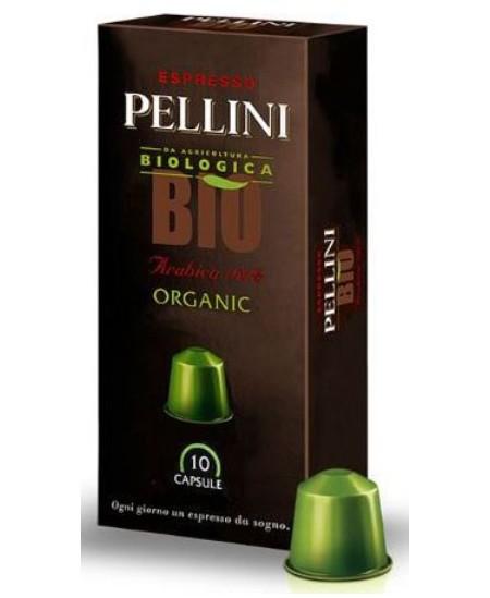 Kavos kapsulės PELLINI TOP BIO, 10x5 g