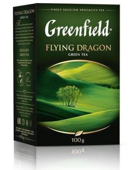 Biri žalioji arbata GREENFIELD Flying Dragon, 100 g