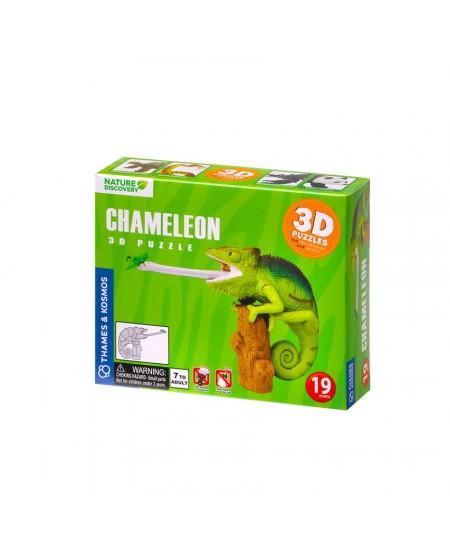 KOSMOS 3D dėlionė CHAMELEONAS