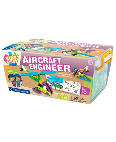 KIDS FIRST mokslinis rinkinys Aircraft Engineer
