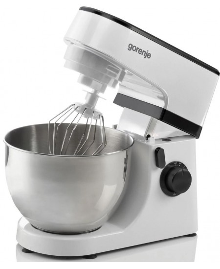 Gorenje Kitchen machine MMC700LBW Number of speeds 6, 800 W, 4 L, Plastic, White
