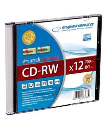 Laikmena ESPERANZA CD-R, 700MB, 12x, 10 vnt.