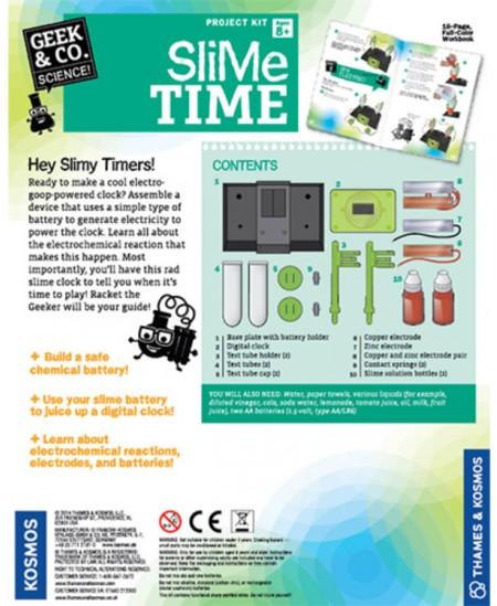 Geek&Co mokslinis rinkinys SLIME TIME