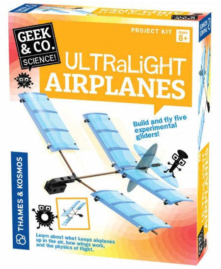 Geek&Co mokslinis rinkinys Ultralight Airplanes
