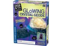 """Mokslinis rinkinys Geek & Co """"Glowing Crystal Geode"""""""