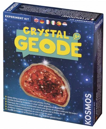 """Kosmos eksperimentų rinkinys """"Kristalų geodai"""""""