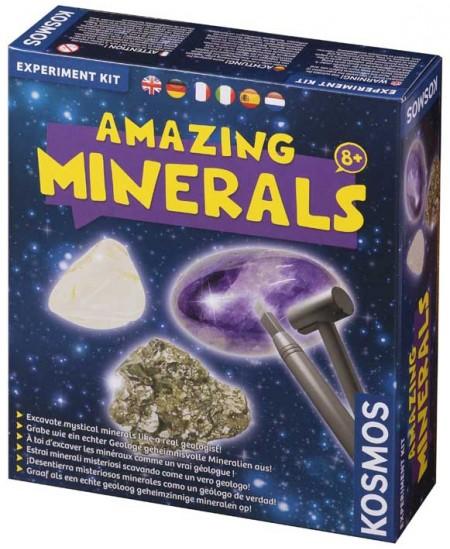 """Eksperimentų rinkinys KOSMOS """"Nuostabieji mineralai"""""""