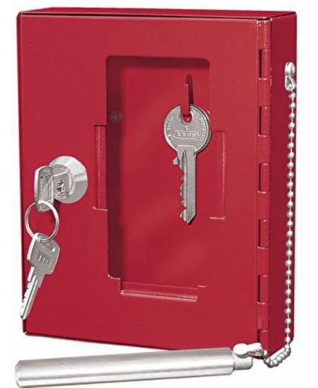 Dėžutė avariniam raktui WEDO, raudona