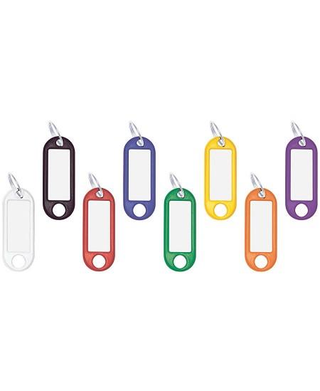 Plastikinis pakabukas raktams WEDO su žiedeliu, įvairių spalvų, 100 vnt