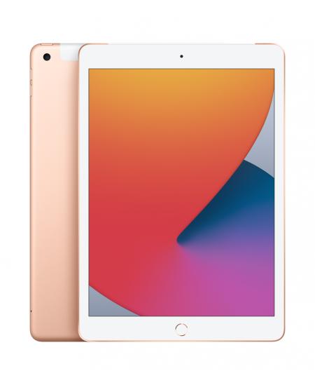 "Apple 8th Gen (2020) iPad Wi-Fi + Cellular 10.2 "", Gold, Retina touch screen with IPS, Apple A12 Bionic, 3 GB, 32 GB, 4G, W"
