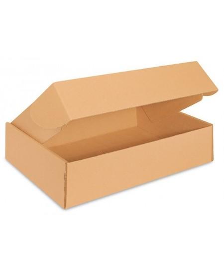 Greito uždarymo dėžė, 180x130x16 mm (tinka S, M, L dydžio paštomatams), rudos spalvos, 1 vnt.