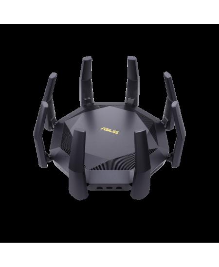 Asus AX6000 Dual Band Router RT-AX89X 802.11ax, 10/100/1000 Mbit/s, Ethernet LAN (RJ-45) ports 8, Antenna type 8xExternal, 2xUSB