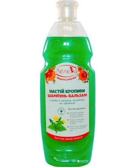 Šampūnas - balzamas LELEKA su dilgėle, 1000 ml