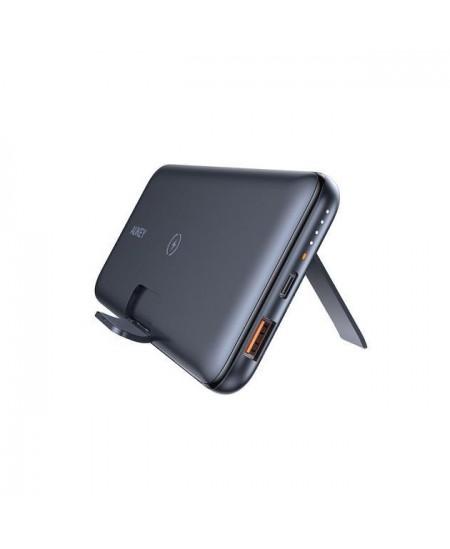 Aukey Power bank PB-WL02 10000 mAh, Wireless, Black, 20 W