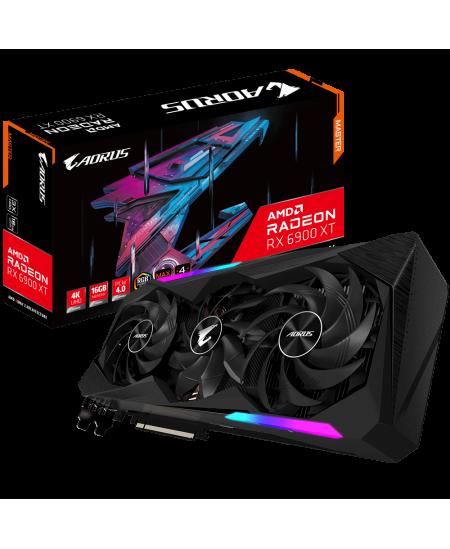 Gigabyte GV-R69XTAORUS M-16GD AMD, 16 GB, Radeon RX 6900 XT, GDDR6, PCI-E 4.0 x 16, Processor frequency 2135 MHz, HDMI ports qua