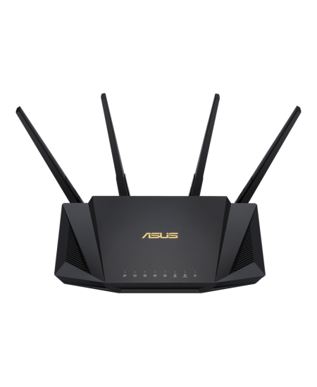 Asus AX3000 Dual Band WiFi 6 Router RT-AX58U 802.11ax, 10/100/1000 Mbit/s, Ethernet LAN (RJ-45) ports 4, Antenna type 4xExternal