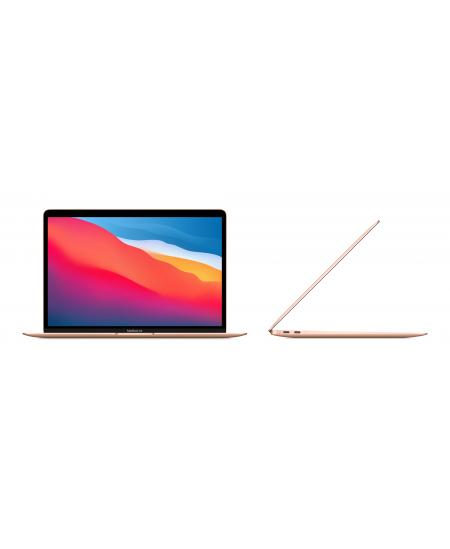 "Apple MacBook Air Gold, 13.3 "", IPS, 2560 x 1600, Apple M1, 8 GB, SSD 256 GB, Apple M1 7-core GPU, Without ODD, macOS, 802."