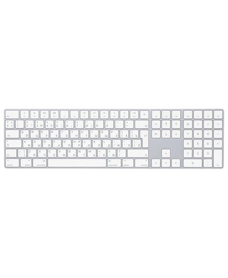 Apple Magic Keyboard with Numeric Keypad Wireless, Keyboard layout English, Russian