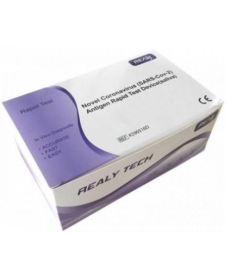 Greitieji COVID-19 antigenų nustatymo testai iš seilių, 5 vnt.