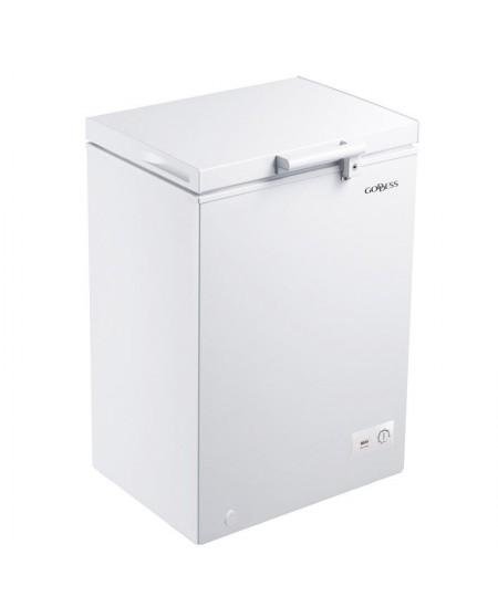 Goddess Freezer GODFTE2100WW8E Energy efficiency class E, Chest, Free standing, Height 84.6 cm, Total net capacity 98 L, White