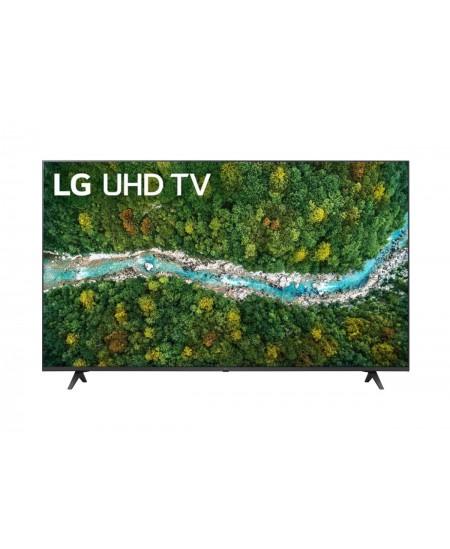 """LG 55UP77003LB 55"""" (139 cm), Smart TV, WebOS, 4K UHD, 3840 x 2160, Wi-Fi, DVB-T/T2/C/S/S2, Dark grey"""