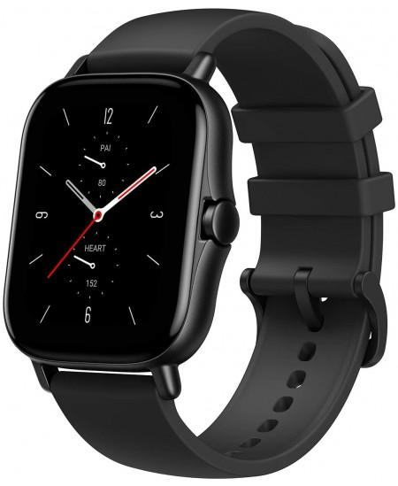 Amazfit GTS 2 Smart watch, GPS (satellite), AMOLED, Touchscreen, Heart rate monitor, Activity monitoring 24/7, Waterproof, Bluet