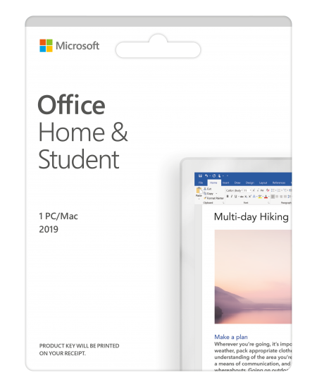 Microsoft Office Home and Student 2019 79G-05158 One-time purchase, Lithuanian, Medialess, P6
