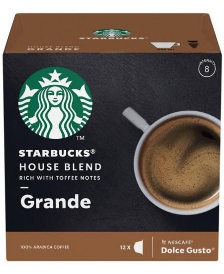 Kavos kapsulės  STARBUCKS Dolce Gusto House Blend Grande