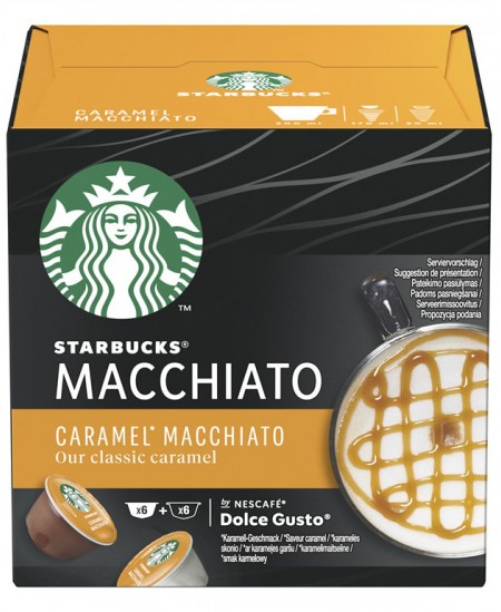 Kavos kapsulės  STARBUCKS Dolce Gusto Caramel Macchiato