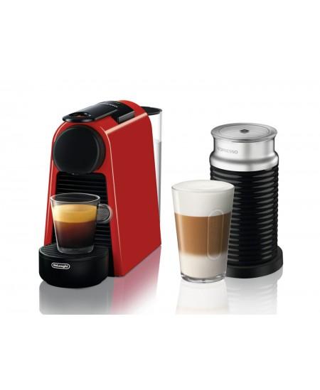 Delonghi Coffee maker  EN 85.R Essenza Mini Pump pressure 19 bar, Capsule coffee machine, 1150 W, Red