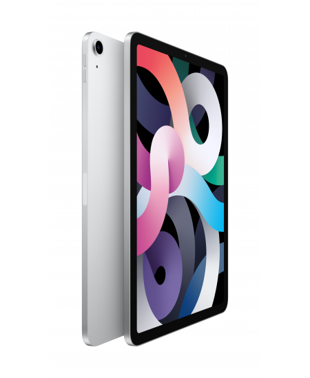 """Apple 4th Gen (2020) iPad Air 10.9 """", Silver, Liquid Retina touch screen with IPS, Apple A14 Bionic, 256 GB, Wi-Fi, Front c"""