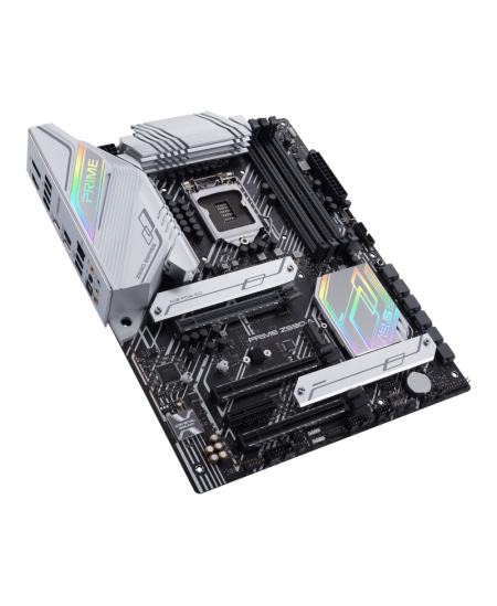 Asus PRIME Z590-A Processor family Intel, Processor socket LGA1200, DDR4, Memory slots 4, Supported hard disk drive interfaces M
