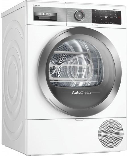 Bosch Dryer mashine WTX8HEL9SN Energy efficiency class A+++, Front loading, 9 kg, Heat pump, TFT, Depth 60 cm, Wi-Fi, Steam func