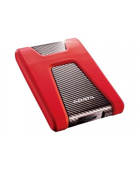 "ADATA Portable Hard Drive HD650 1000 GB, 2.5 "",  USB 3.2 Gen1 (backward compatible with USB 2.0), Red"