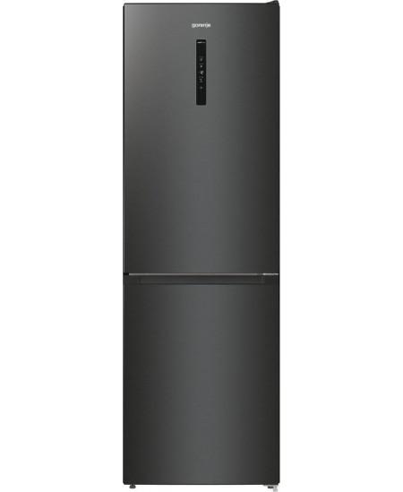 Gorenje Refrigerator NRK619EABXL4 Energy efficiency class E, Free standing, Combi, Height 185 cm, No Frost system, Fridge net ca