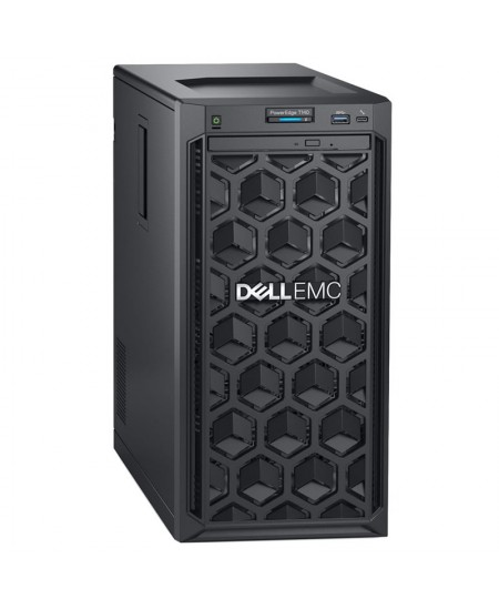 "Dell PowerEdge T140 Tower, Intel Xeon, E-2224, 3.4 GHz, 8 MB, 4T, 4C, UDIMM DDR4, 2666 MHz, No RAM, No HDD, Up to 4 x 3.5"","