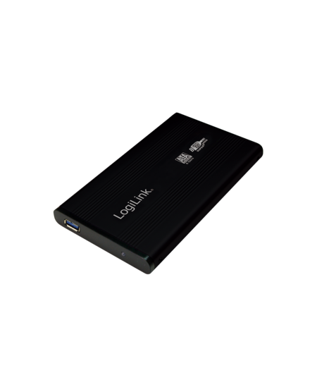 "Logilink External hard drive enclosure, black 2.5"", SATA, USB 3.0"
