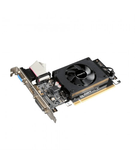 Gigabyte GV-N710D3-2GL 2.0 NVIDIA, 2 GB, GeForce GT 710, DDR3, PCI Express 2.0, Cooling type Active, HDMI ports quantity 1, Memo