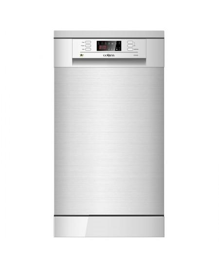 Goddess Dishwasher GODDFE947DX9NE Free standing, Width 45 cm, Number of place settings 9, Number of programs 6, Energy efficienc