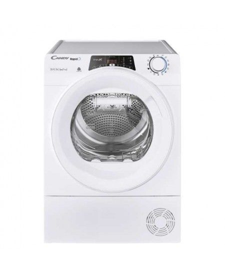 Candy Dryer Machine RO H10A2TE-S Energy efficiency class A++, Front loading, 10 kg, Heat pump, LCD, Depth 60 cm, Wi-Fi, White