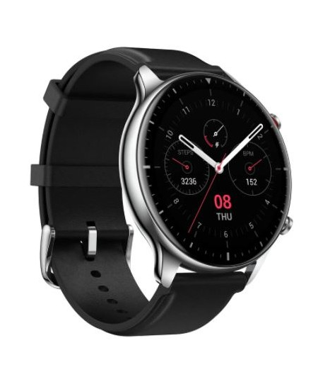 Amazfit GTR 2 Sport Edition Smart watch, GPS (satellite), AMOLED, Touchscreen, Heart rate monitor, Activity monitoring 24/7, Wat