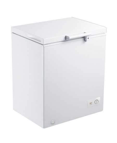 Goddess Freezer GODFTE2145WW8E Energy efficiency class E, Chest, Free standing, Height 84.6 cm, Total net capacity 142 L, White