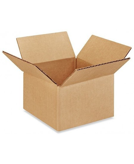 Gofruoto kartono dėžė, 245x245x230 mm, rudos spalvos, 20 vnt